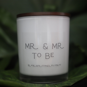 Personalised Soy Candles