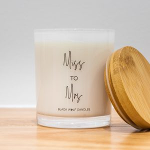 Quote Candle – Miss To Mrs