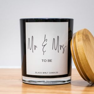 Quote Candle – Mr & Mrs To Be