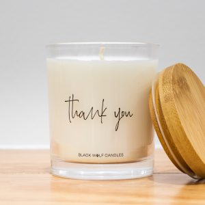 Quote Candle – Thank You