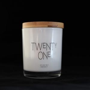 Quote Candle – Twenty One